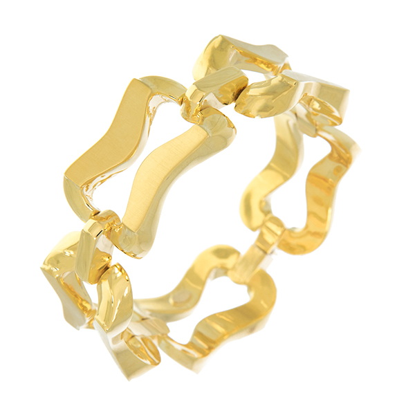 Pulsera oro amarillo 750 mm